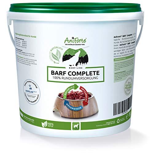 51vHPLOjf2L - AniForte Barf Complete Pulver 1kg für Hunde, 100% Natur Rundumversorgung - Natürlich, Artgerecht und Ausgewogen, Hochwertiger Zusatz beim Barfen, Reich an Mineralstoffen, Vitalität und Wohlbefinden