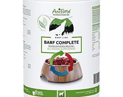 AniForte Barf Complete Pulver für Hunde 500g - 100% Natur Rundumversorgung - Natürlich, Artgerecht und Ausgewogen, Hochwertiger Zusatz beim Barfen, Reich an Mineralstoffen, Vitalität und Wohlbefinden
