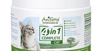 AniForte 4in1 Complete Cat 60g Rundumversorgung fuer Katzen Reich 310x165 - AniForte 4in1 Complete Cat 60g - Rundumversorgung für Katzen, Reich an Antioxidantien, Vitaminen, Mineralien, Pulver mit Taurin, Kollagen für Gelenke, Nervensystem, Immunsystem, Magen-Darm